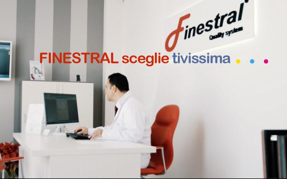 TIVISSIMA gira il nuovo spot di FINESTRAL