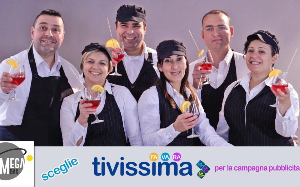 MEGA BAR sceglie Tivissima per la campagna pubblicitaria